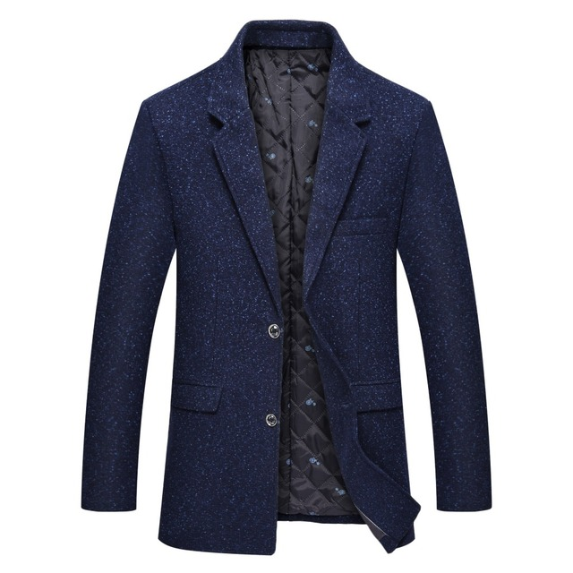 Icpans Blazer Mens Casual Jacket Office Business Polyester Blazer Men Slim Fit Spring Autmn 2018 New Plus Size Brand Fashion
