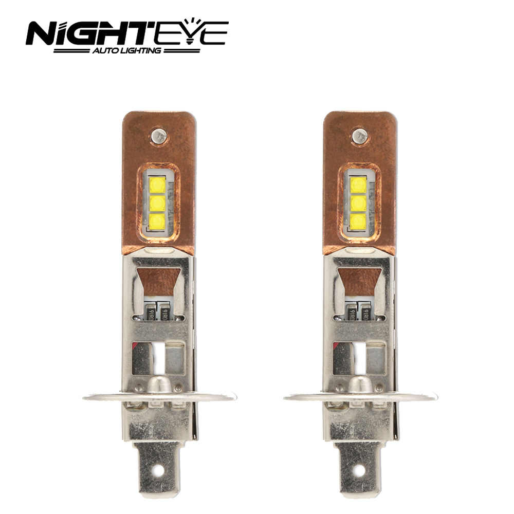 2Pcs H1 H11 LED headlights bulb 12v H7 H11 H1 H3 9005 9006 Auto Car Headlight 60W 1600LM CREE XBD Fog Lights white 6500K Bulb