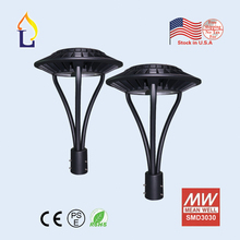 US stock 5 Pack LED street garden light lamp 150W led Area post top lighting with UL DLC certification 85-265VAC