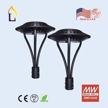 US stock 5pcs/lot LED street garden light lamp 50W/70/100/150W led Area post top lighting CE ROHS PSE 110-277VAC
