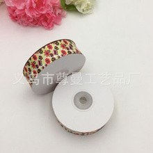 Fashion Flower DIY Digital Printing Thermal Transfer Sublimation Ribbon Grosgrain Clothing Decoration Belt