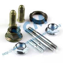 GY6 Engine Exhaust Pipe Screw Nut Pulley Wheel Nuts Overrunning Clutch Lock Nut Wholesale YCM Drop