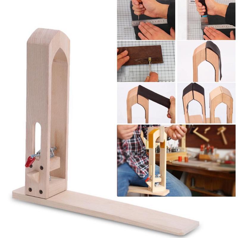 En cuir Artisanat de Retenue Clip Bois Outils BRICOLAGE À La Main Tool Set Table De Bureau Couture À Coudre Laçage Poney Cheval Pince Outils