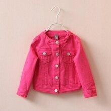 2 5 t de alta qualidade primavera meninas jaquetas denim outerwear bordado flor menina casacos jeans jaqueta crianças roupas
