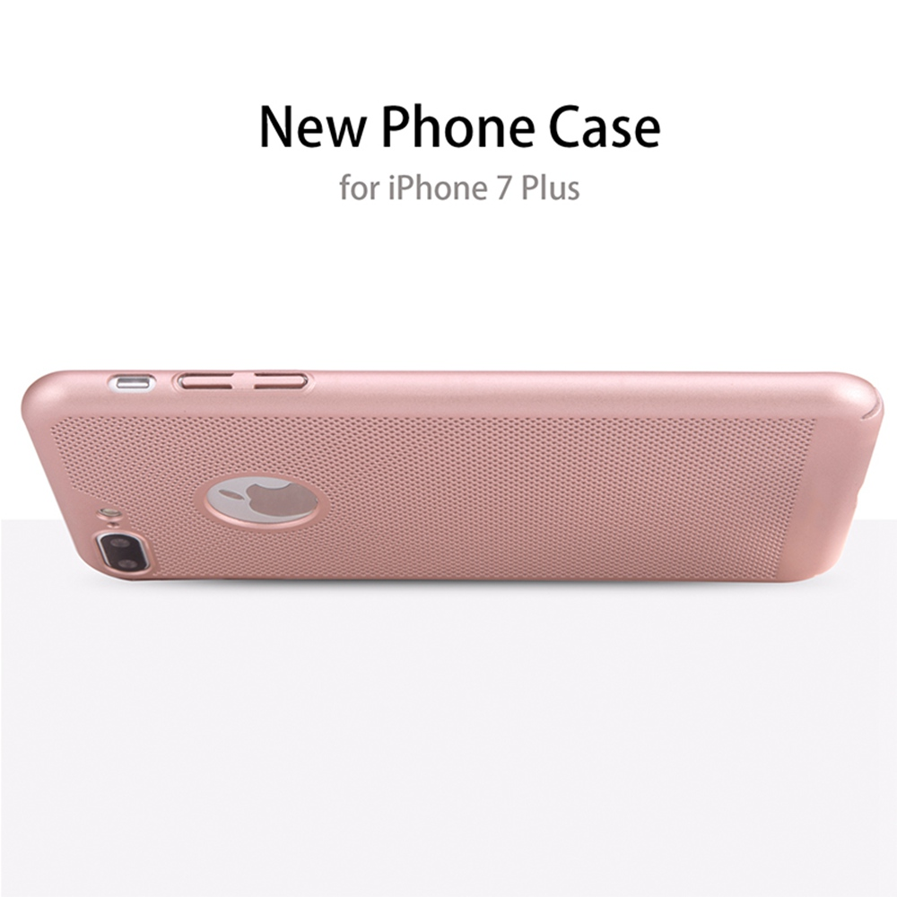 BONVAN Ultra Thin Luxury pc Heat Dissipation Back Cover For iPhone 7plus Hard Phone Case For iPhone7plus pluhone coque