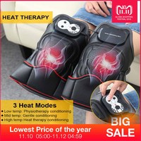 Knee Joint Magnetic Vibration Heating Massager Joint Physiotherapy Massage Electric Massage Pain Relief Rehabilitation Equipment
