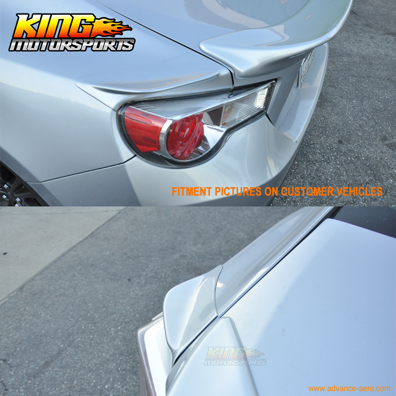 US $149 99 |Fit For FRS GT86 FT86 BRZ TR D Painted # 37J Whiteout Pearl  Side Spoiler ABS Global Free Shipping Worldwide-in License Plate from