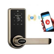 Bluetooth Smart Электронный Keyless Клавиатуры Дом вступления замок с смартфон контролируемой для гостиницы и квартиры Совместимость
