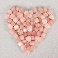 100g rose quartz tumbled stone Irregular polishing natural rock mineral bead for Chakra Healing home decoration accessories