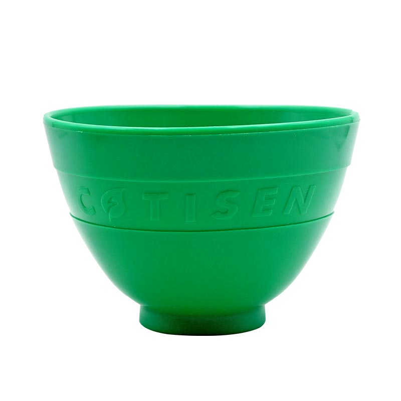 1pc Dental Silicone Mixing Bowl Green Dental Lab Oral Teeth Tools Flexible Rubber Silicone Mixing Bowl