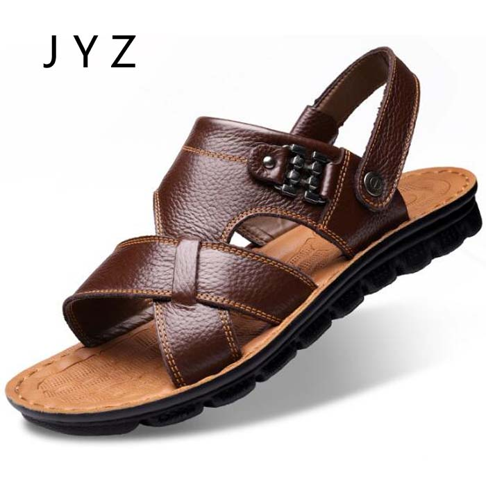 Fashion New Mens Sandals Summer Casual Beach Shoes Soft Slippers Flats Size 45 46 47 men0019 3