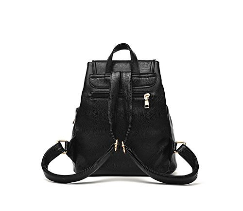 Senkey Style Casual Purse Fashion School Leather Shoulde rBag Mini Backpack for Women Girls