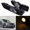Lâmpada de halogéneo/LED 1 pair Frente Car Bumper Nevoeiro Conjunto Da Lâmpada de Luz de Circulação Diurna de Condução Farol Para Volkswagen Golf 4 1998-2006