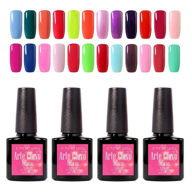 Premium Quality Gel Nail Color 10ml Arte Clave UV Gel Polish Soak ...