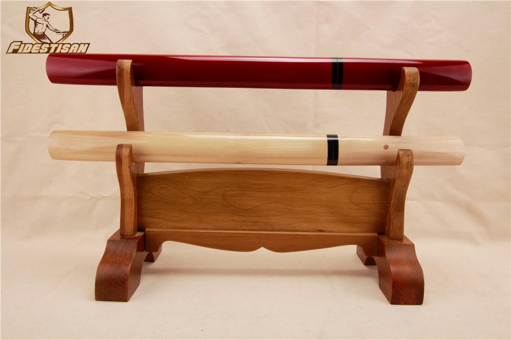 Sabre de fidestisan japonais rétro katana Wakizashi tachi célèbre épée en acier au carbone samouraï tanto couteau court bois saya