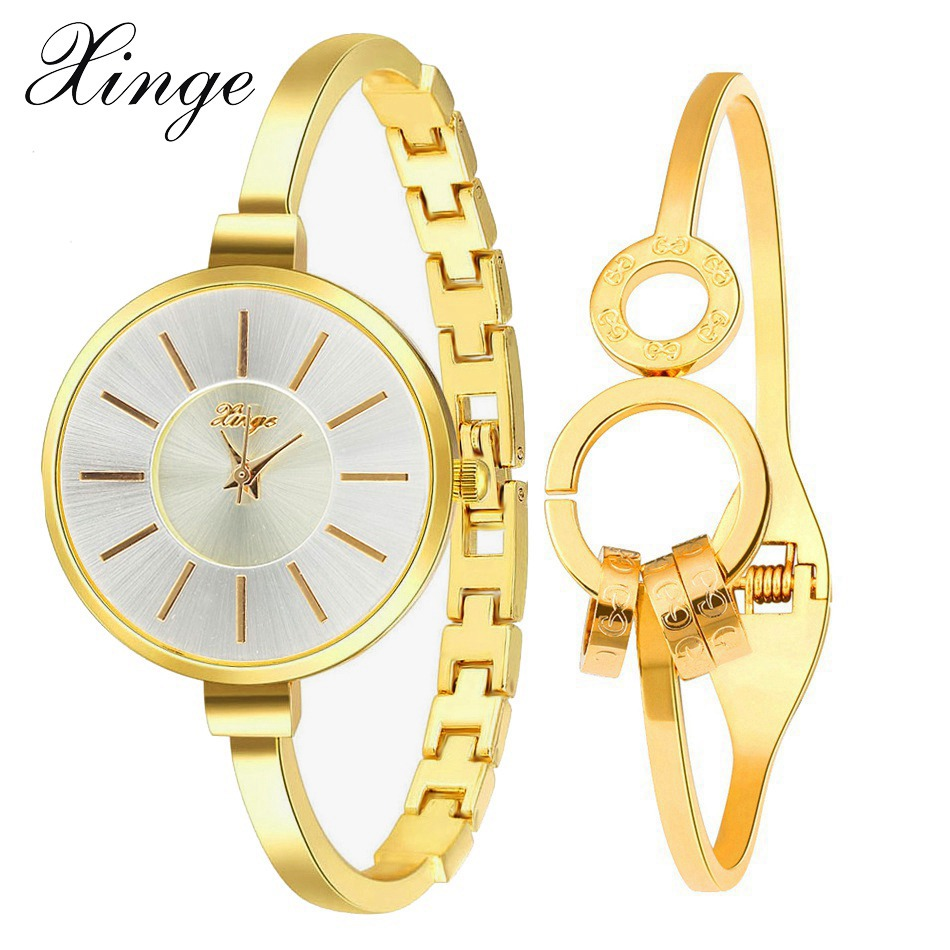Xinge Brand High Quality Fashion Luxury Women Watch Casual Crystal Wristwatch Quartz Ladies Simple Dress Business Set Clock hot luxury brand fashion orologio donna fashion business watch women casual leather clock female quartz ladies wristwatch
