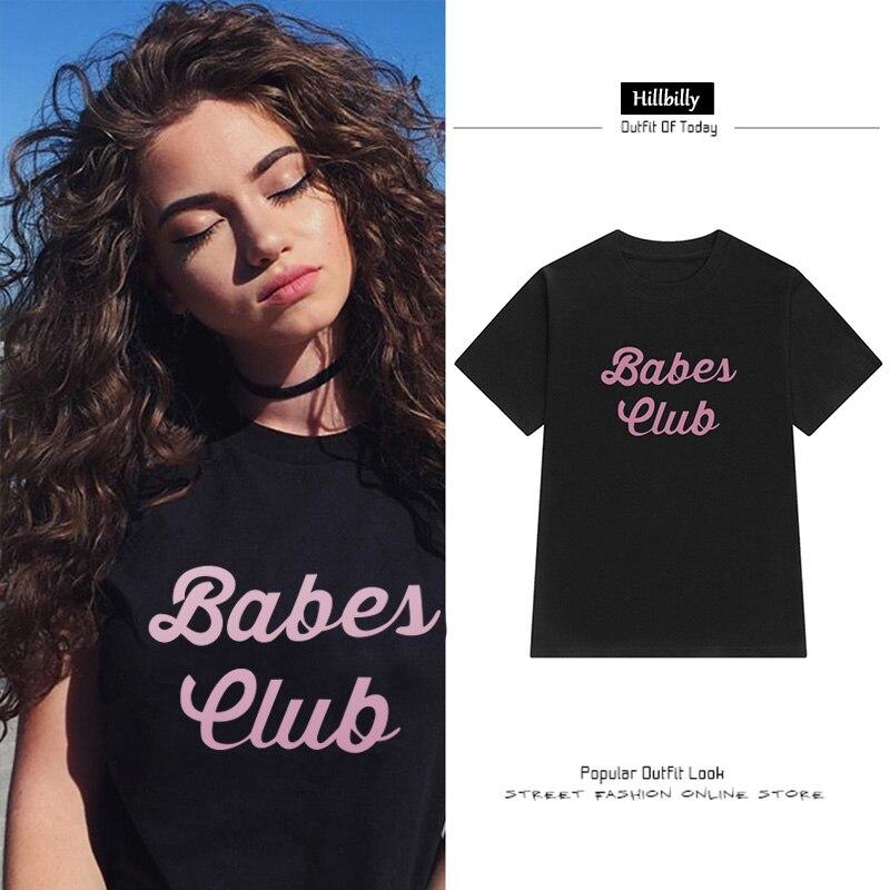 Hillbilly 2017 Ամառային նոր շապիկներ Babes Club - Կանացի հագուստ