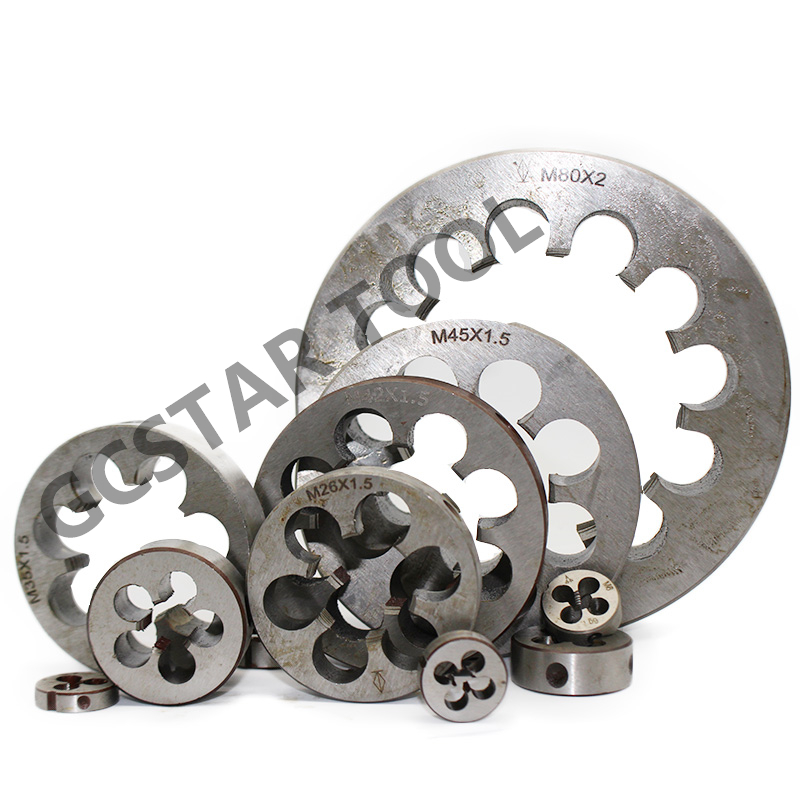 1PCS Metric Screw Die M24X 2mm 1.5mm 1.25mm 1mm HSS Right Hand Pitch Round Machine Threading Die Tools Lathe Engineer Tool 1pcs metric right hand tap m32x1 0mm taps threading tools 32mmx1mm pitch