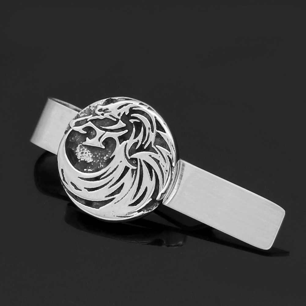 Viking Warrior Quality Pewter Tie Clip
