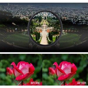 Image 5 - ZOMEI ABS אופטי זכוכית CPL דק רב מצופה עגול מקטב קיטוב HD עדשת מסנן עבור DSLR עדשת 49/ 52/58/67/72/77/82mm