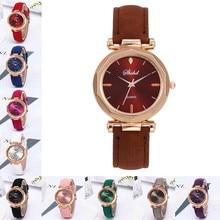 Роскошные модные женские часы, браслет, повседневные часы, женские кожаные Аналоговые кварцевые наручные часы с кристаллами