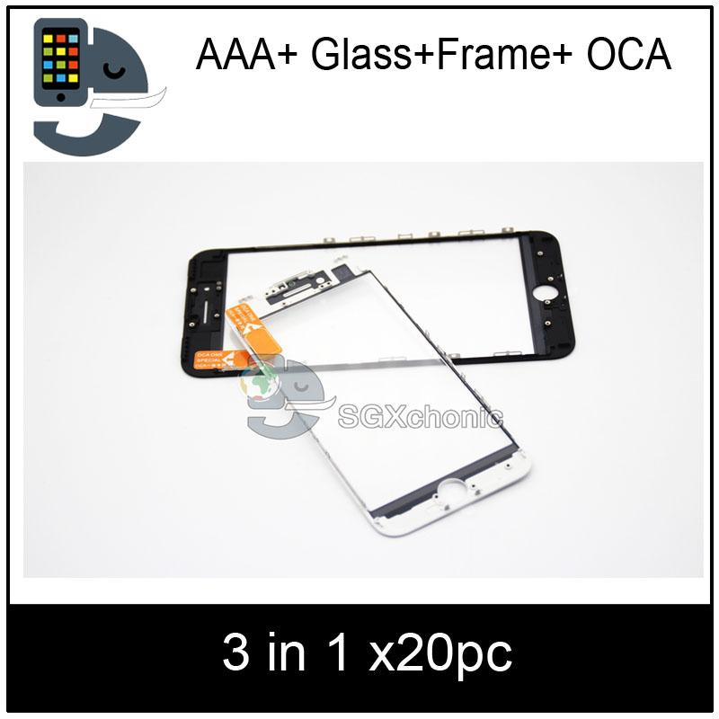 20pcs For iphone 8 8P 7 7g plus 6 6s 5 5s 5c cold press 3
