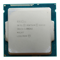 인텔 펜티엄 프로세서 g3220 3.0g lga1150 22 나노 미터 lga1150 3 m 캐시 듀얼 코어 cpu 프로세서 tpd 53 w  g3260 판매