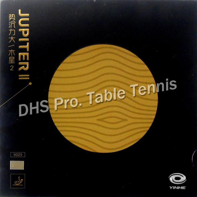 Galaxy Yinhe JUPITER II TACKY Pips in Table Tennis Rubber with Orange Sponge