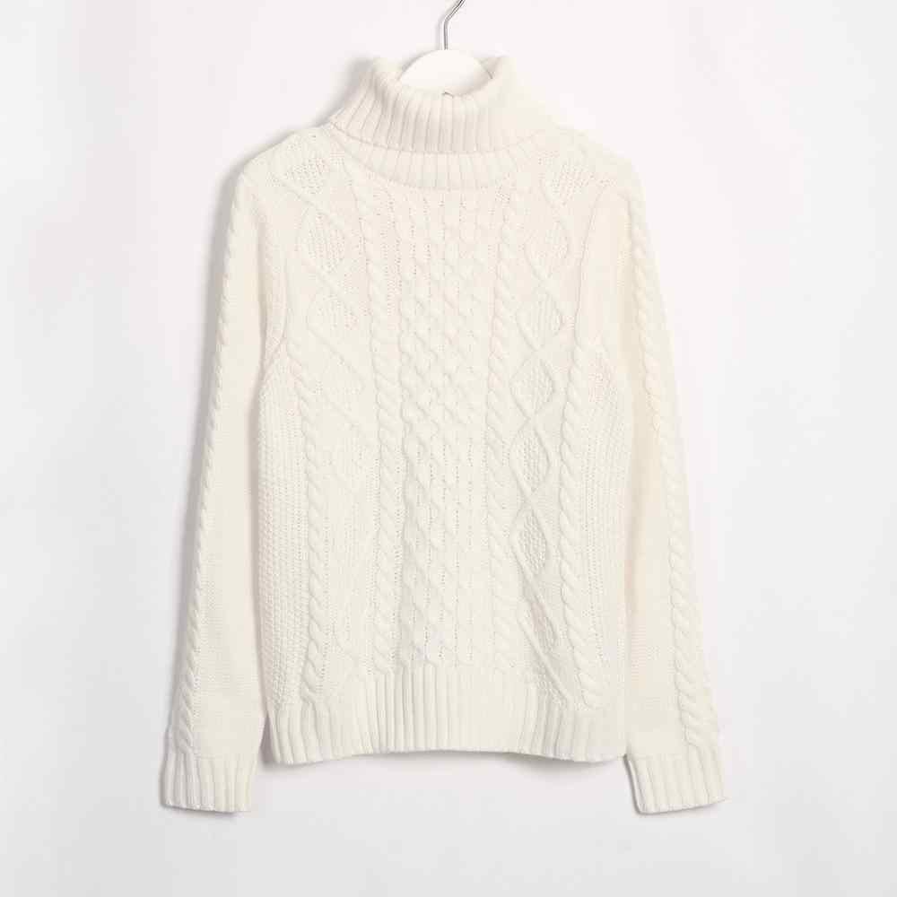 Wixra Must Have Solid Sweaters 2019 Autumn Winter Female Turtleneck Warm Basic Slim Knitted Sweater Pullovers Women's Jumpers
