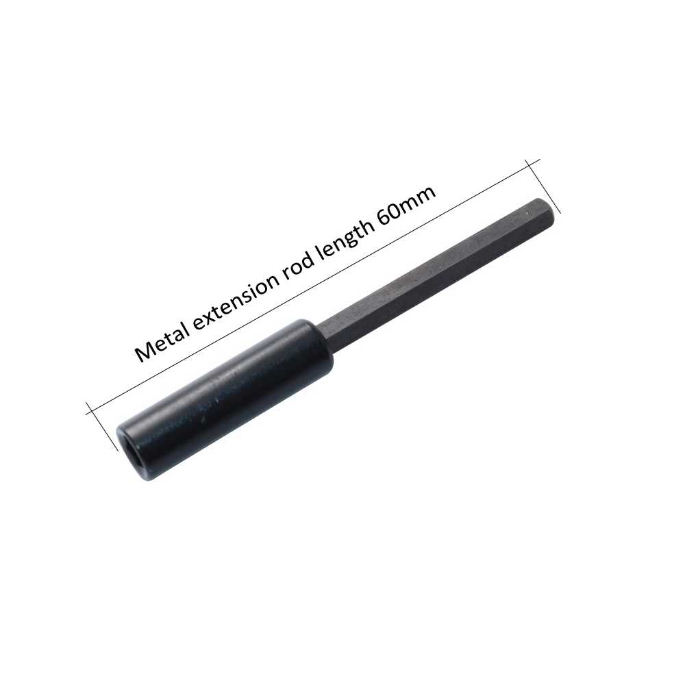 Professional Custom Screwdriver Extension Rod Adopts Standard Hexagon Quick Change Handle Long 4MM Head Manual Tool