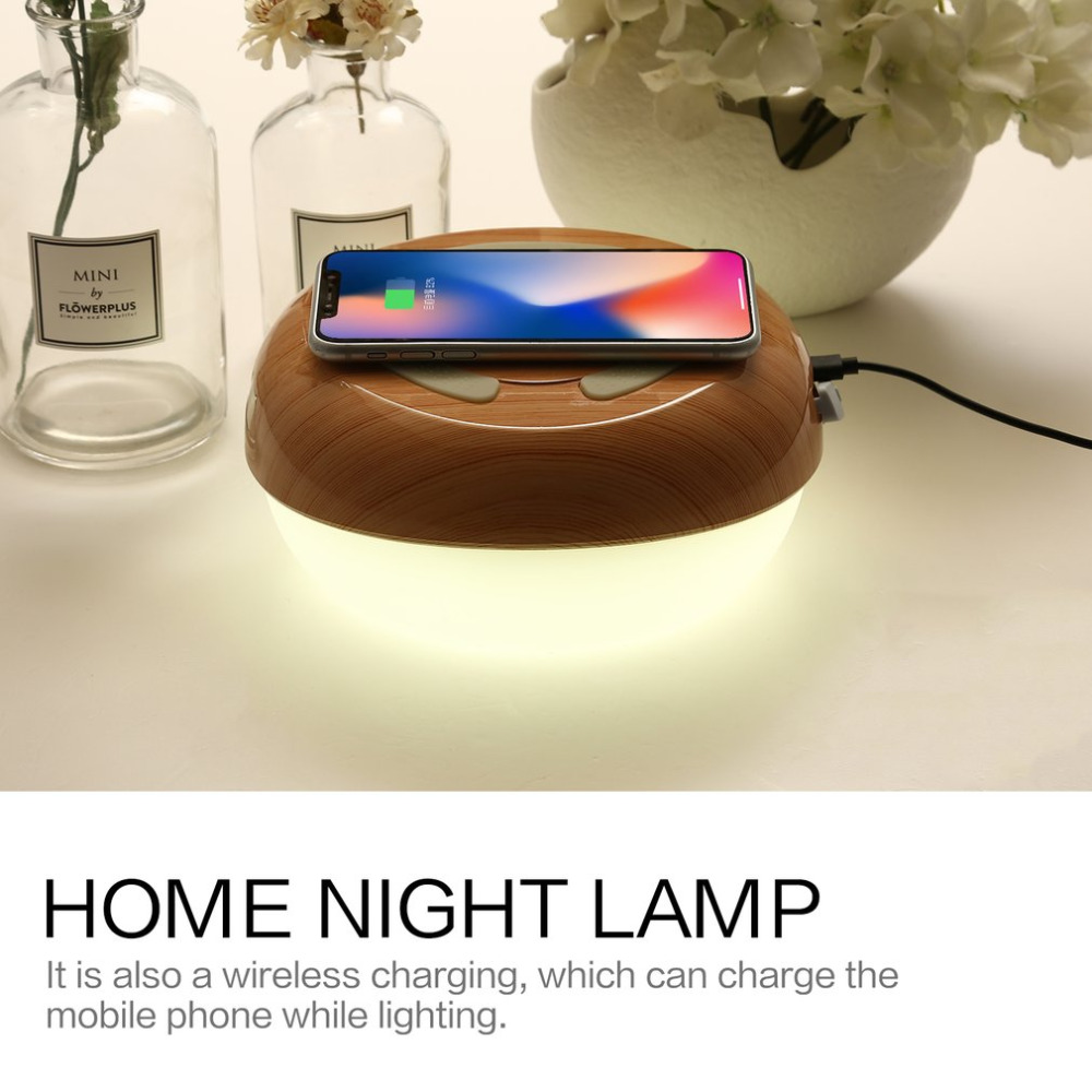 Table Lamp for Bedrooms Living Room Portable Night Light Desk Lamps Art Craft Decor Wireless Charger for mobile PhoneTable Lamp for Bedrooms Living Room Portable Night Light Desk Lamps Art Craft Decor Wireless Charger for mobile Phone