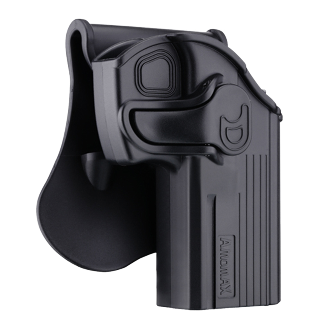 NFSTRIKE Amomax Adjustable Tactical Holster For CZ 75D Compact Taurus 24/7 - Right-Handed Black (Standard Only With Waist Plate)