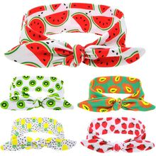 Hot Sale 1 Pc DIY Newborn Children Unisex Fruit Style Soft Braider Tiara Headbands Hair Accessories(China)