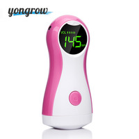 Yongrow 2017 New Arrival Fetal Doppler And Headset Best Fetus Heart Beat Monitor CE LCD Display