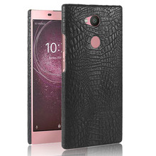 For Sony Xperia L2 H3311 H4311 Case Quality PC Crocodile Grain Back Cover Hard Case for Sony Xperia L 2 H 3311 4311 Protector смартфон sony h4311 xperia l2 black