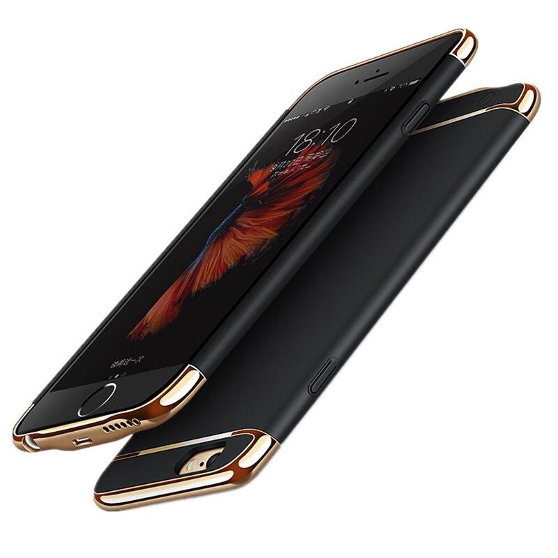 imágenes para Inalámbrico 3500 mah clip trasero del cargador de batería del banco para el iphone 6 6 s 6 más 6 s plus Función Soporte para Teléfono Móvil Caja de Alimentación