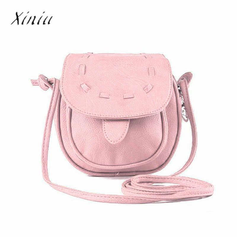 8ca00a4ee7d9 Women Handbag Crossbody Shoulder Bag Lovely Cute Pu Leather Mini Small  Adjustable Messenger Bags for Women