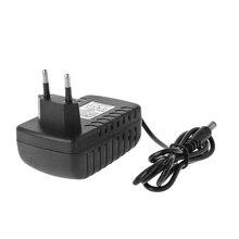 Зарядное устройство для литиевых батарей 18650, 16,8 в, 2 А, 4 серии, 14,4 В, 110 245 В, вилка стандарта ЕС/США, настенное зарядное устройство для литий ионных батарей