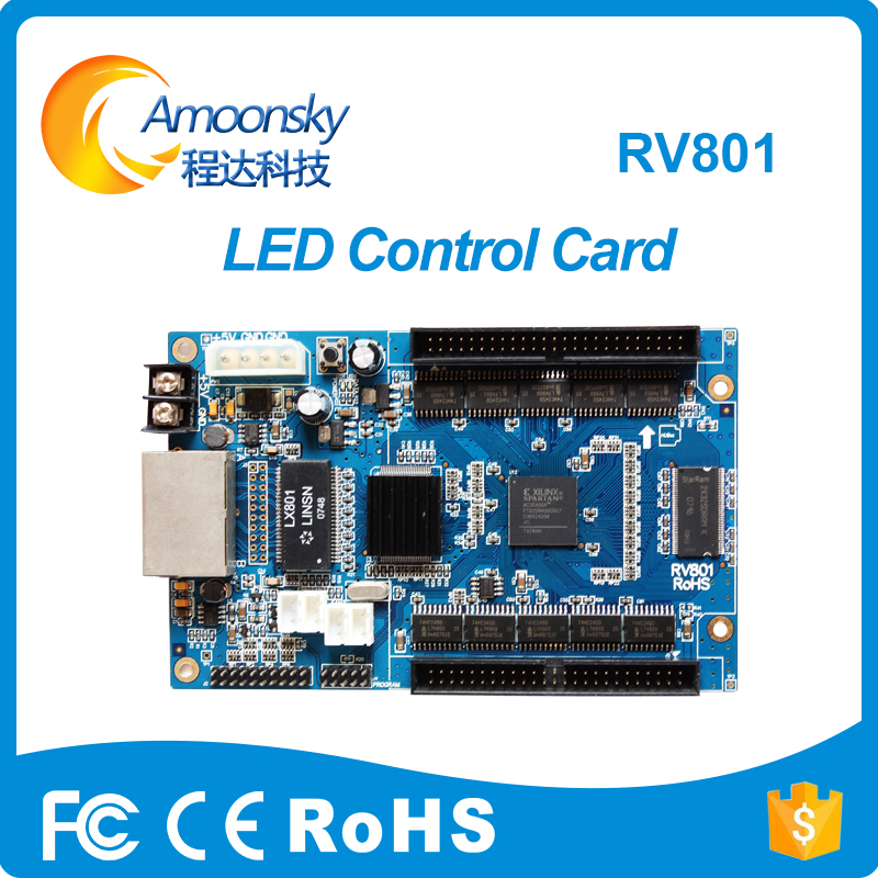 Linsn Rv801 Controller Card Linsn Linsn Receiver In LED Displays Support 256*128