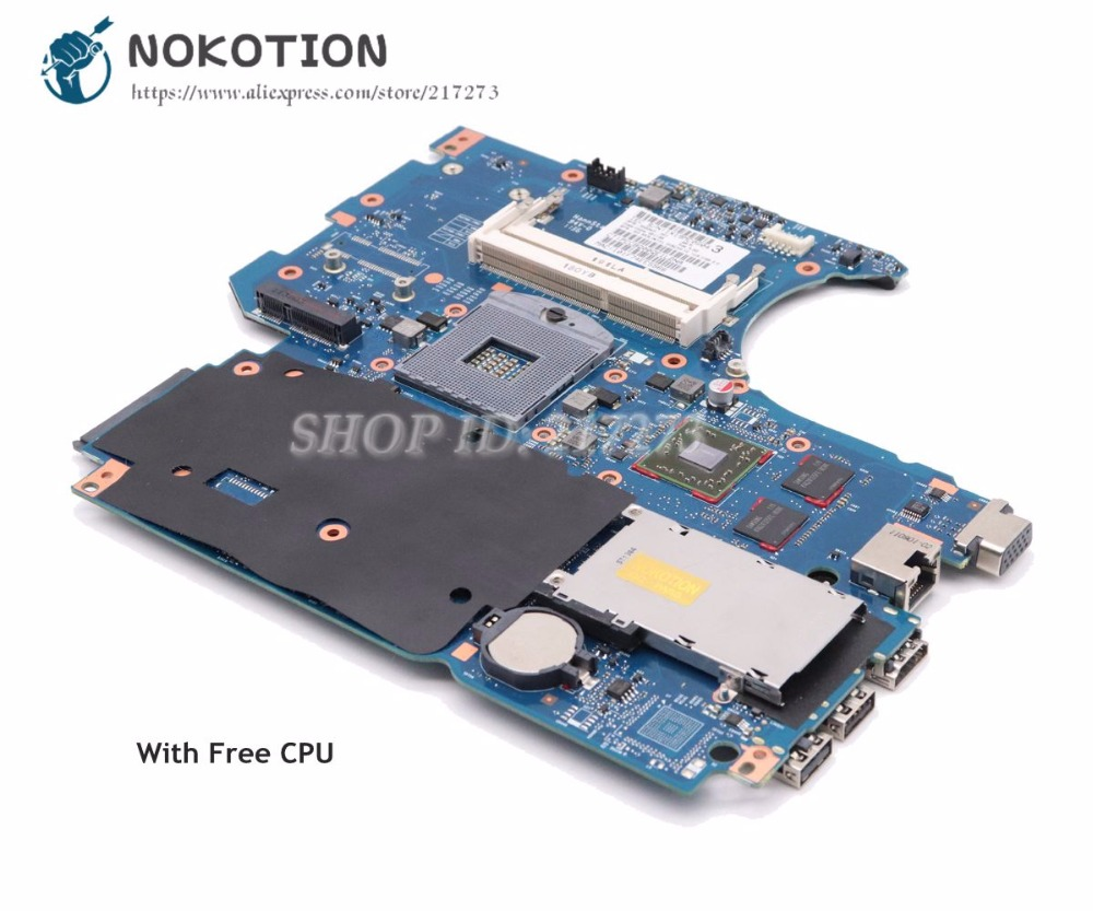 NOKOTION For HP Probook 4530s 4730s Laptop Motherboard 670795-001 658343-001 Main Board HM65 DDR3 HD5470M 1GB 670795 001 for hp probook 4730s 4530s laptop motherboard 6050a2465501 mb a02 hm65 1gb non integrated 100