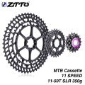 ZTTO 11Speed SLR Bicycle Cassette 11-50T 11s 11v k7 11 Speed 50 UltraLight 368g CNC Freewheel MTB Mountain Bike For XX1 gx m9000