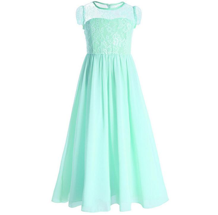 Chiffon Flower Girl Dresses For Weddings Pageant Girl Party Dress ...