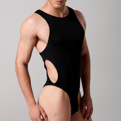 Dos Homens NOVOS Sexy Slik Gelo Bodysuits Lingerie Bodywear Body Shaper Collant Camisola Lingerie Erótica