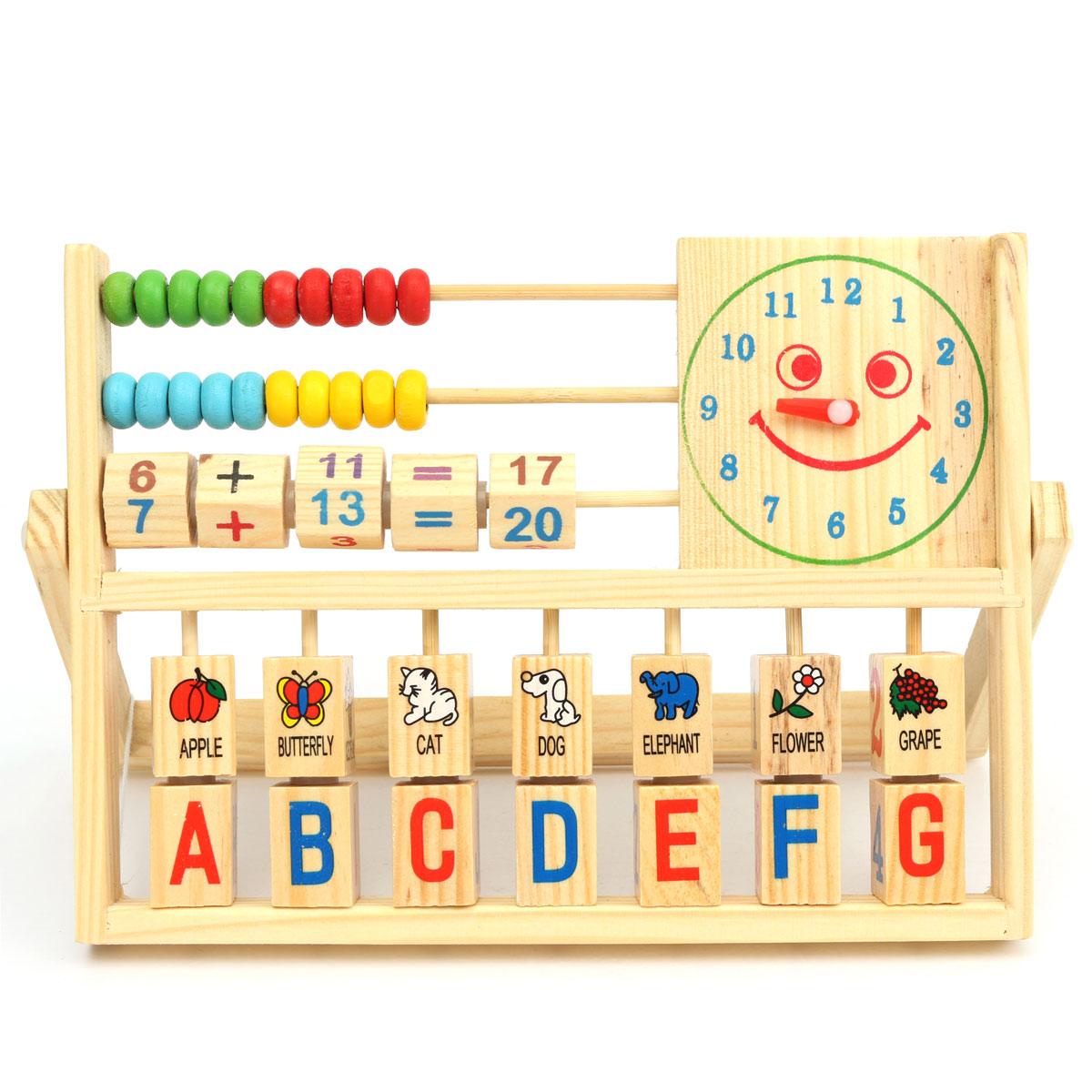 Children Baby Kids Educational Calculate Math Toys Learning ...
