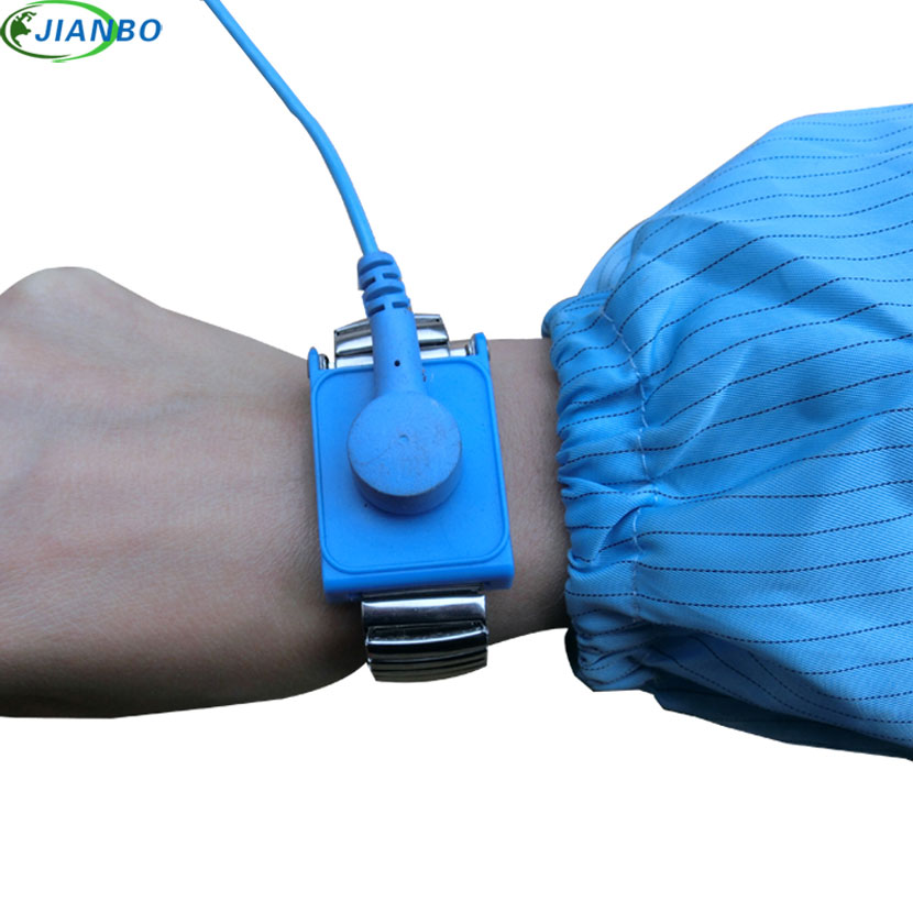 New Anti Static Antistatic Esd Cordless Wrist Strap Band Blue Free Shipping Volume Large Hand & Power Tool Accessories