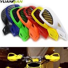 รถจักรยานยนต์ Handguard Hand Guard Protector สำหรับ Kawasaki Suzuki Honda Yamaha KTM SX EXC XCW SMR Moto Dirt Bike ATV 22mm Handlebar