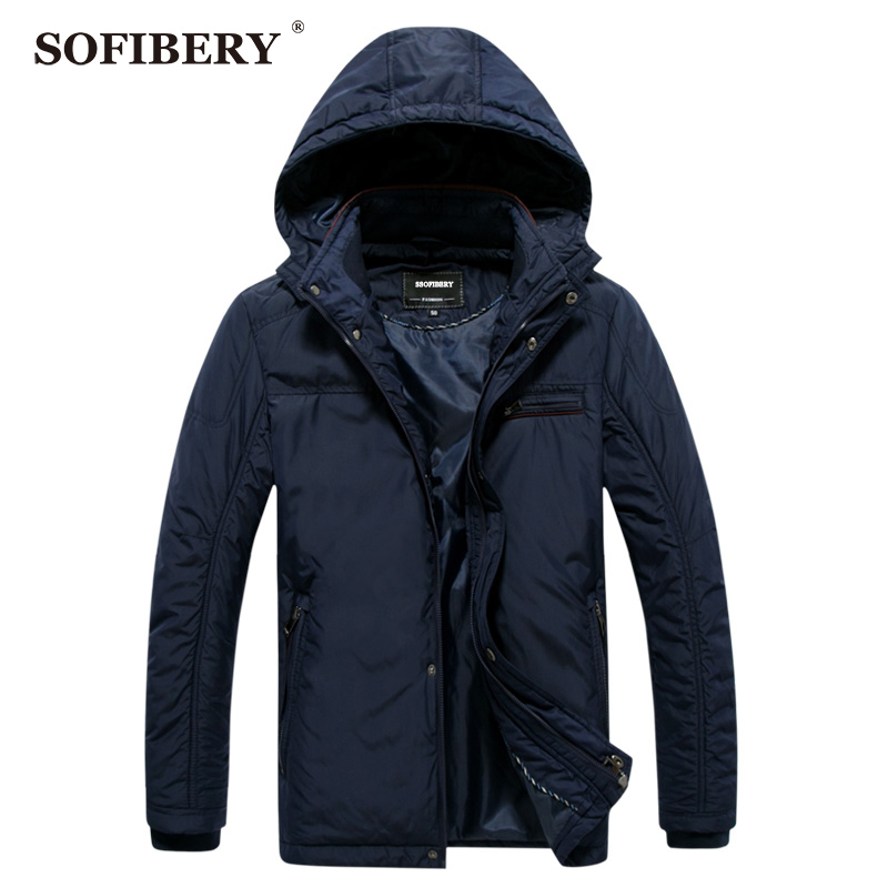 SOFIBERY Men's Jackets Fashion Men's Coats Spring and autumn jacket men solid color casual jacket big yards GQ15-09