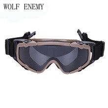 Paintball Airsoft Óculos Anti Nevoeiro Ballistic Óculos De Proteção para  Capacete TB423 NEGROS(China) 5331fd10f6