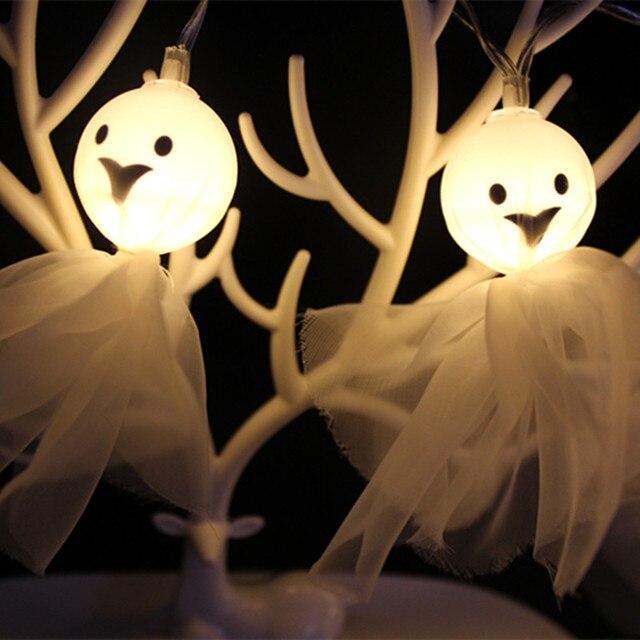 Creative 10 LED Halloween Décor Led Guirlande Lumineuse Piles