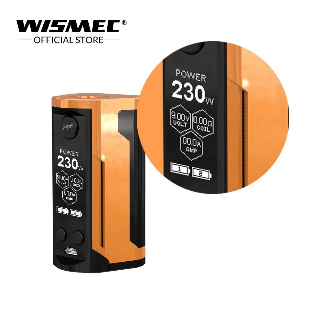[Russe/USA/France] Wismec Reuleaux RX GEN3 Double Mod Boîte Max Sortie 230 W VW/ TC-Ni/TC-Ti/TC-SS/TCR cigarette électronique mod - 5